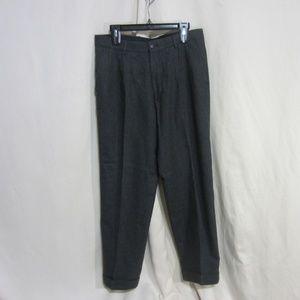 MENS STRUCTURE 34/30 WOOL BLEND DRESS PANT